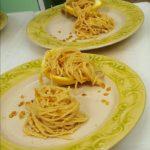 spaghetti vegan al limone