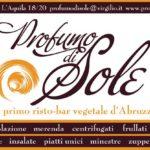 Il ristorante e bio-bar Profumo di Sole a Pescara
