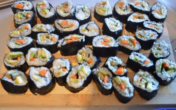 ricetta sushi vegano