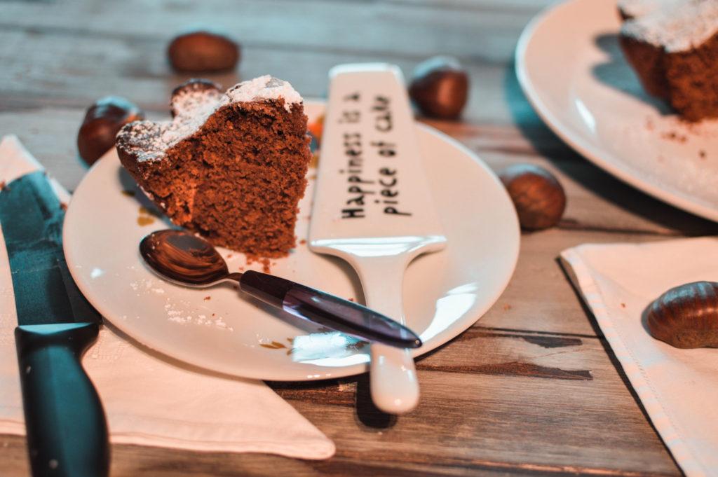 torta al cacao vegana