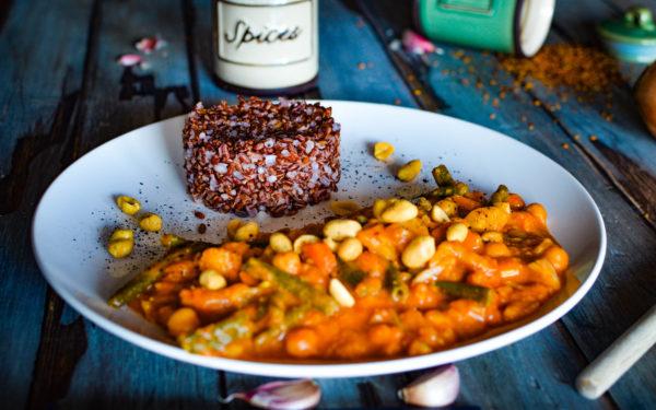 red thai curry vegan