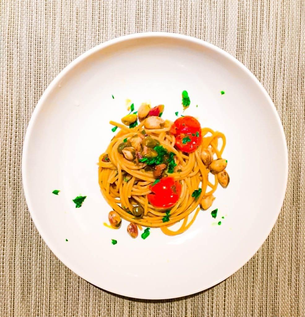 pasta pistacchi