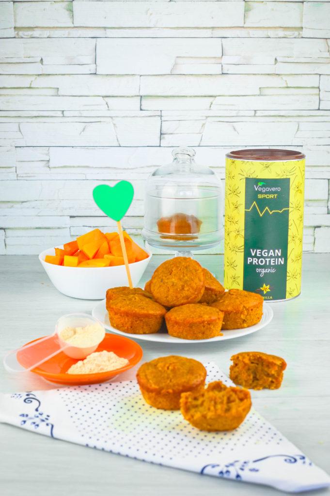 muffin con zucca