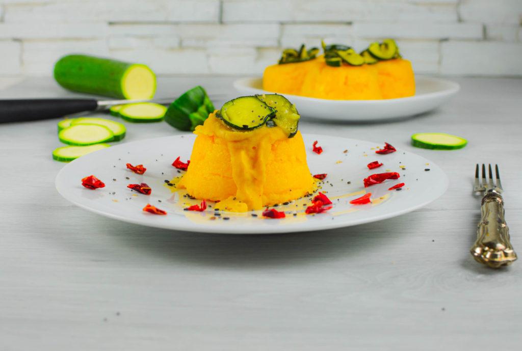 polenta con zucchine
