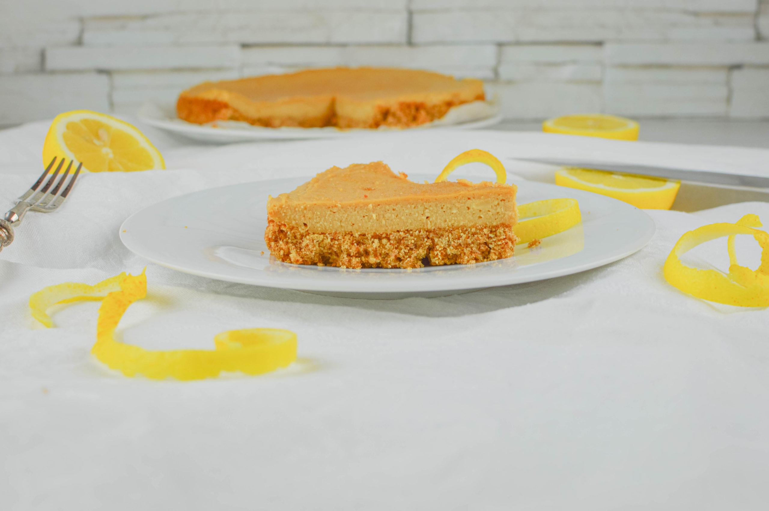 torta veg con crema di limone