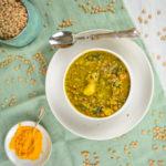 Ricetta curry di lenticchie al cocco