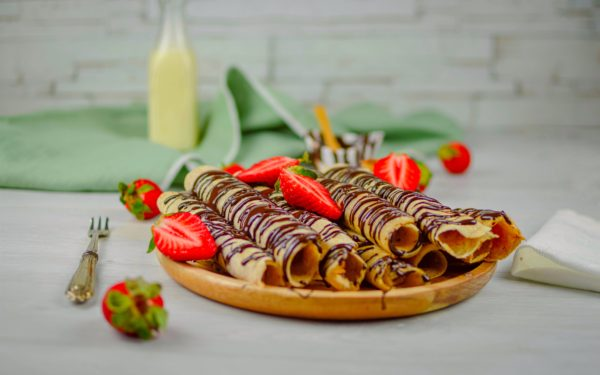 crepes integrali vegan
