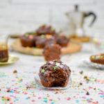 muffin vegani al doppio cioccolato