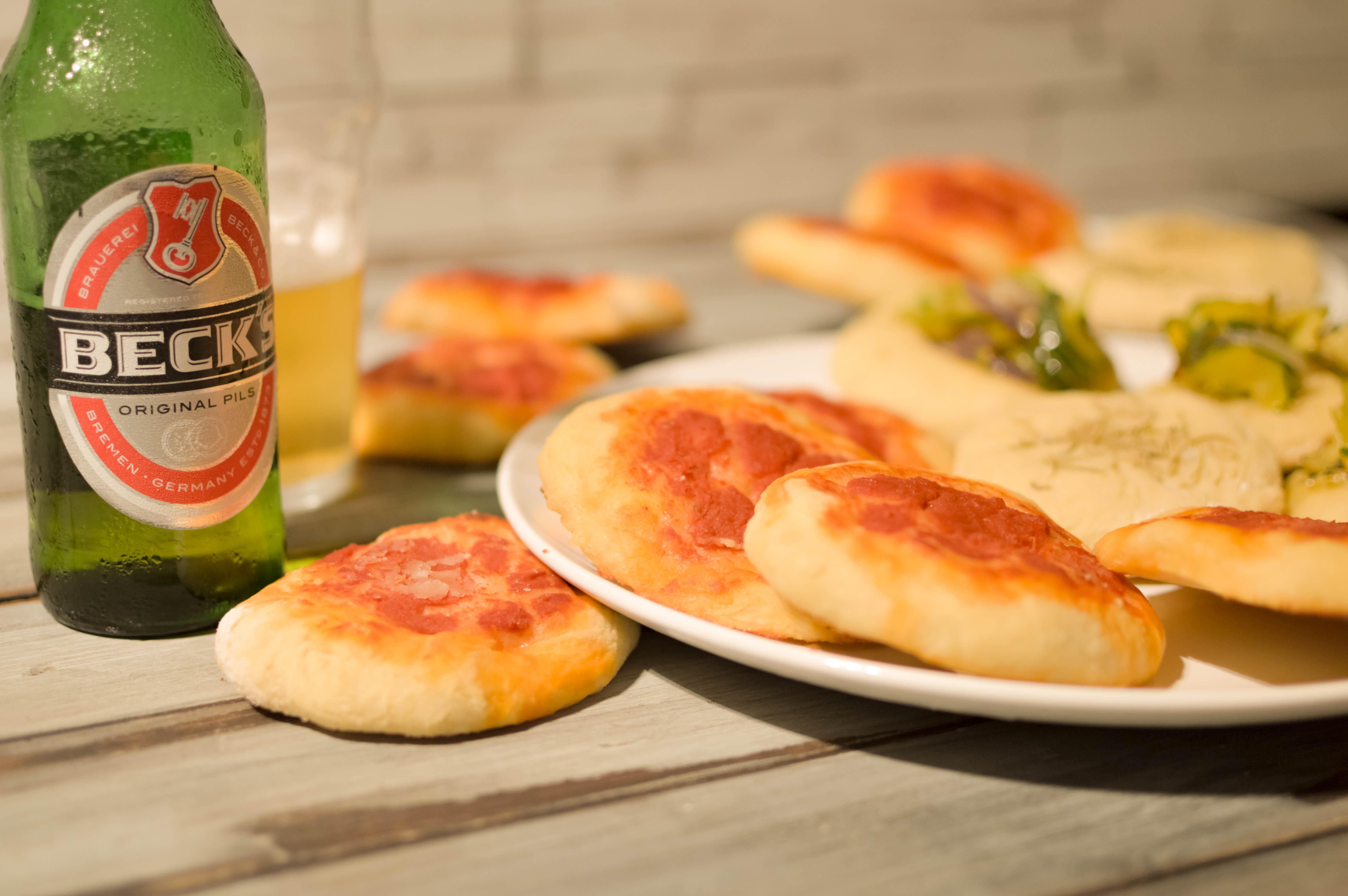 aperitivo pizzette vegane