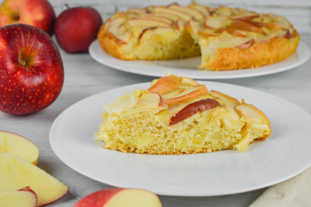 torta di mele veg