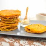 Frittelle vegan con farina di lenticchie