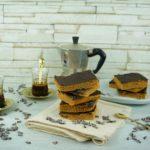 Brownies vegan con burro d'arachidi