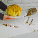 Cavolfiore arrosto con salsa tahin