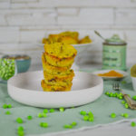 Muffin salati senza glutine con piselli e patate