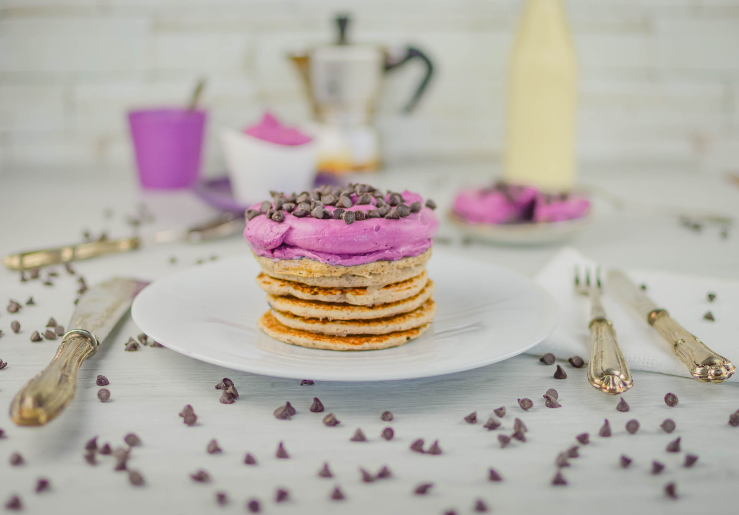 pancake vegan e senza glutine