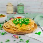 Ricetta Baba Ganoush e pane indiano (naan bread)