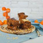 Vegan Brownies all'albicocca