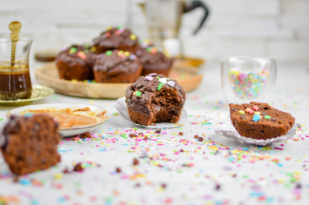 vegan muffin cioccolato