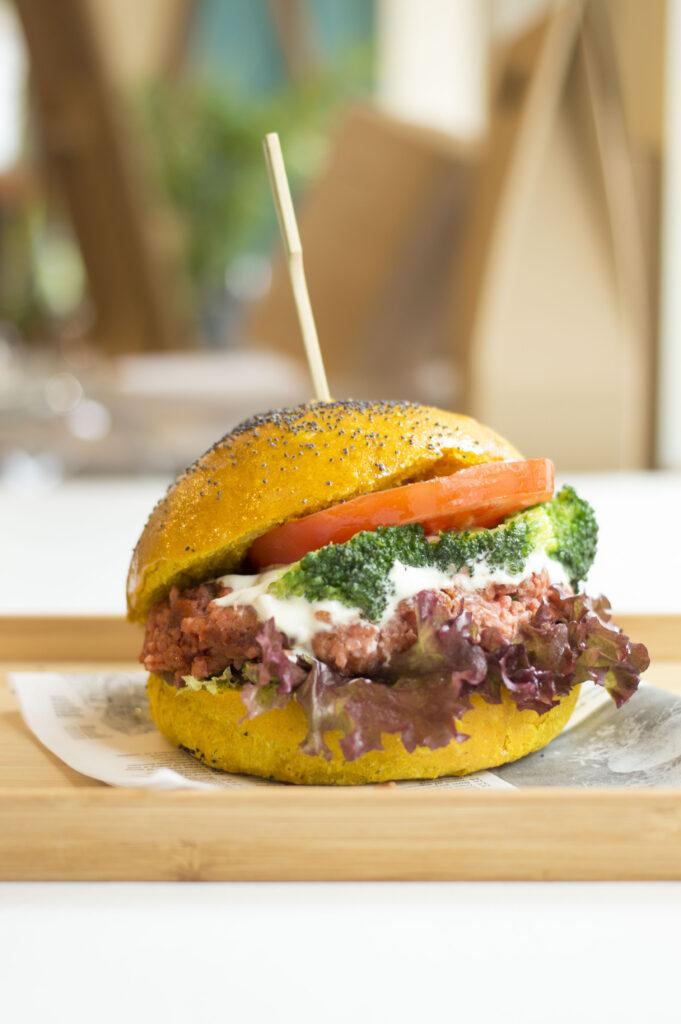 vegan burger pescara